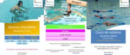Aquadick- Activités des vacances d'Avril