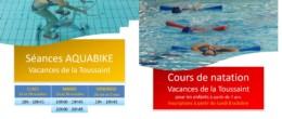 Aquadick : activités des vacances d'automne