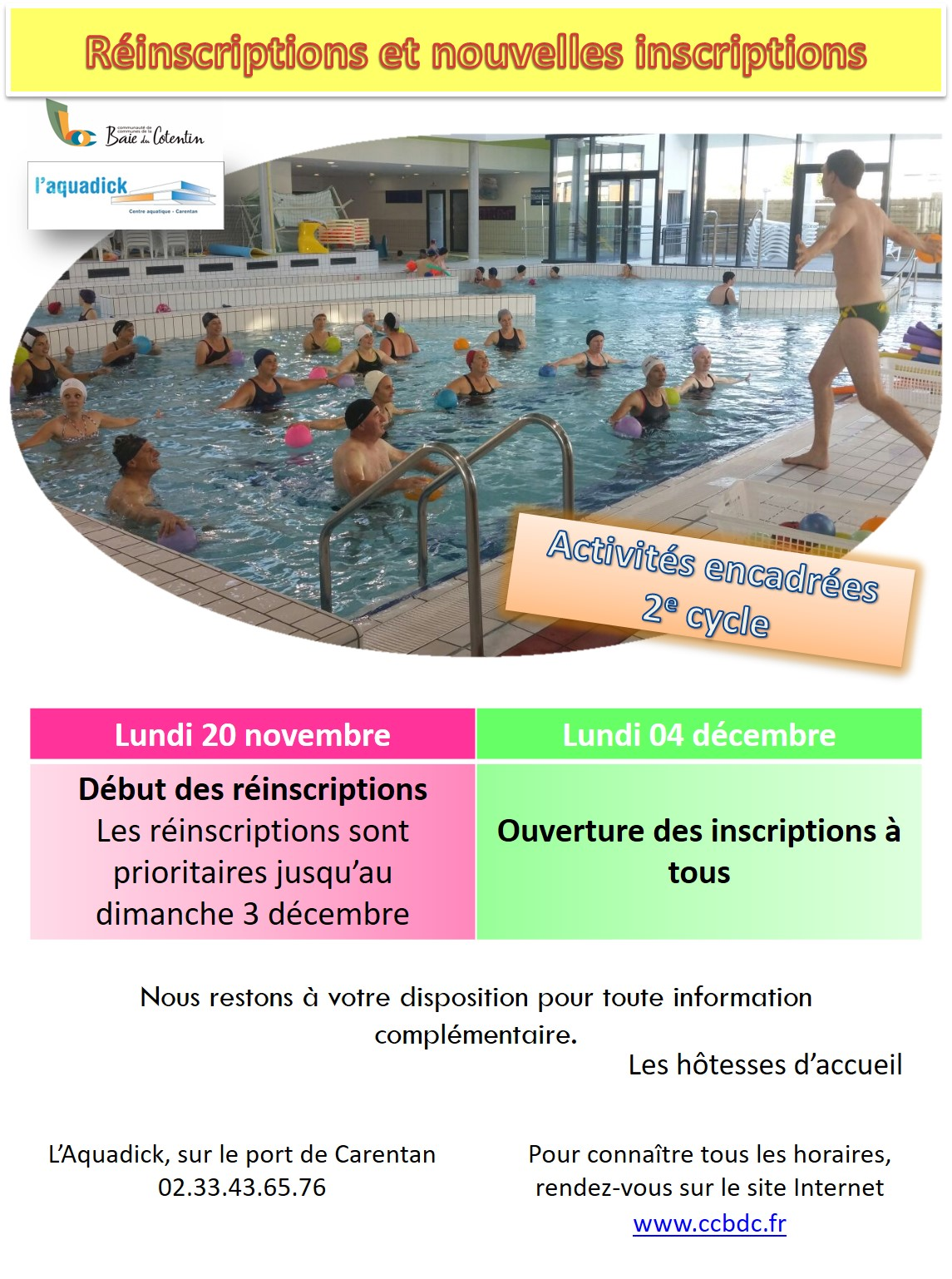 AE Inscriptions 2e cycle