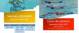 Aquadick – Activités encadrées été 2017