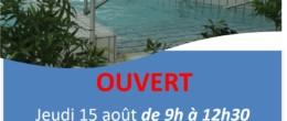 Aquadick : ouverture le 15 août