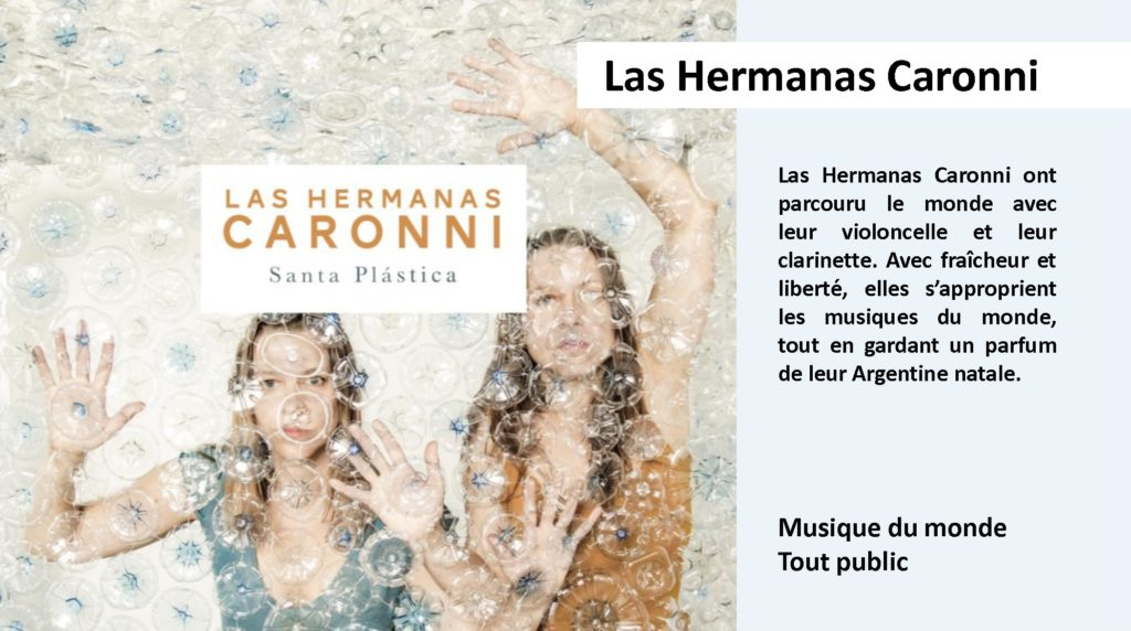 LAS HERMANAS CARONNI - Descriptifs avec photo