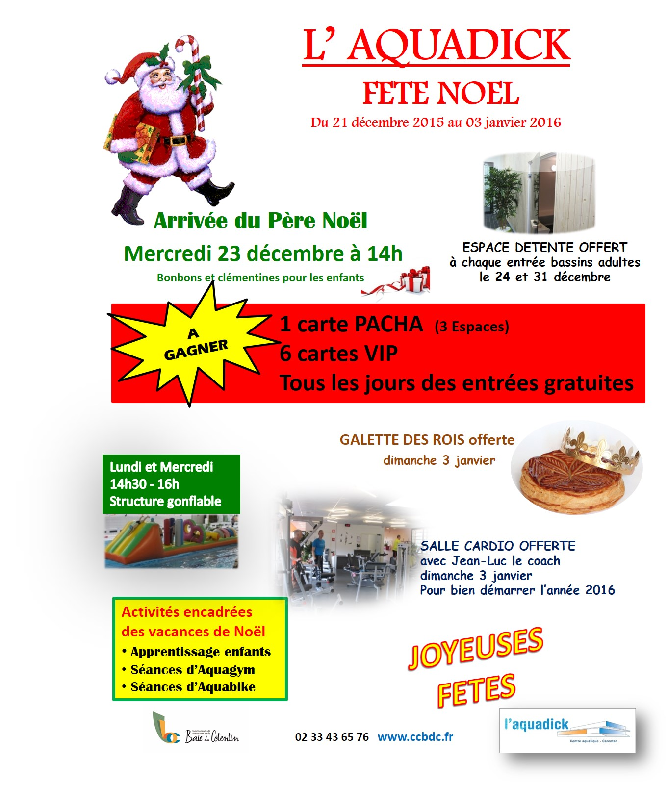 Noël 2015 - Aquadick