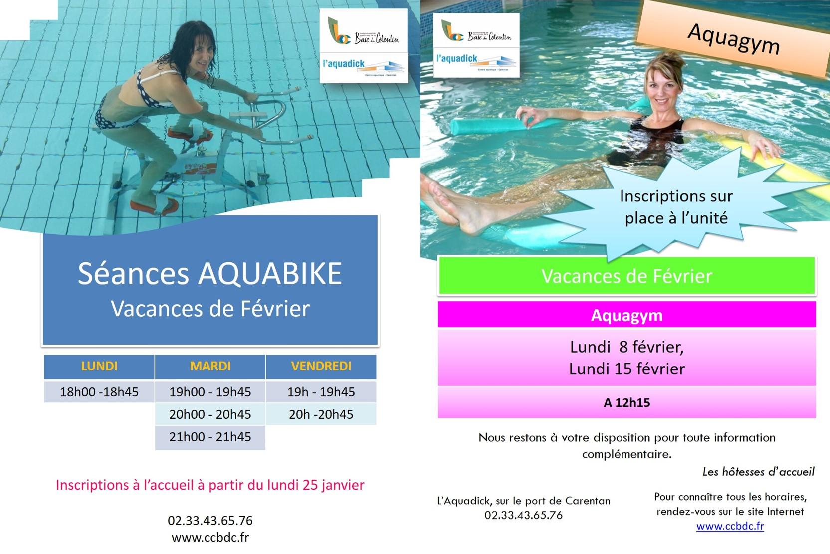 Aquabike Aquagym