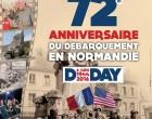 Festivités du 6 juin – 72e anniversaire
