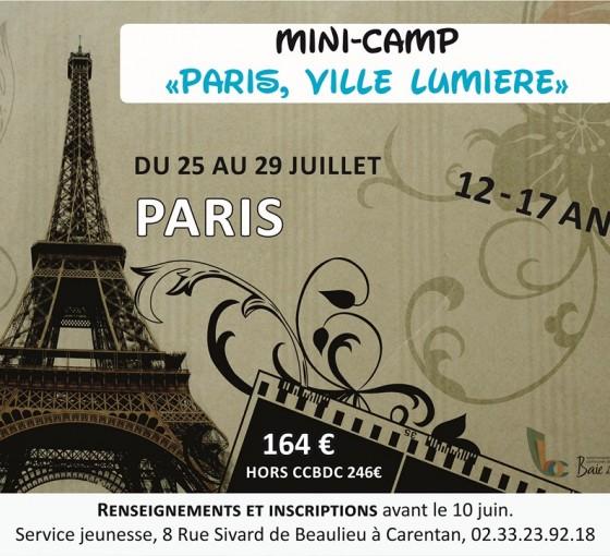 Mini-Camp à Paris