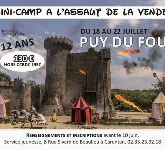 Mini-Camp en Vendée