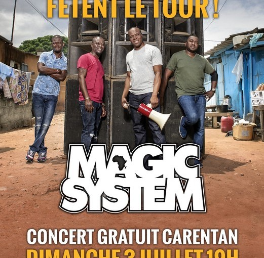 Magic System en concert gratuit