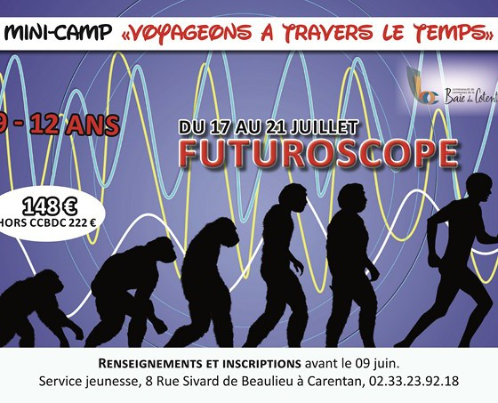 Mini-camp au Futuroscope