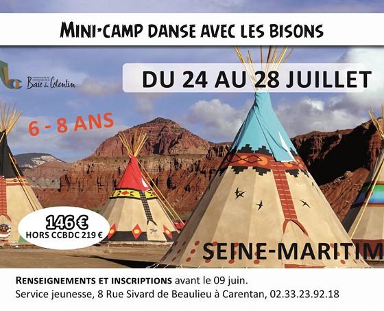 Mini-Camp «Danse avec les bisons»