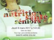 Atelier nutrition santé Seniors