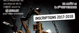 Ecole de musique – Inscriptions