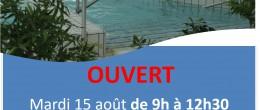 Aquadick- Ouverture le 15 août