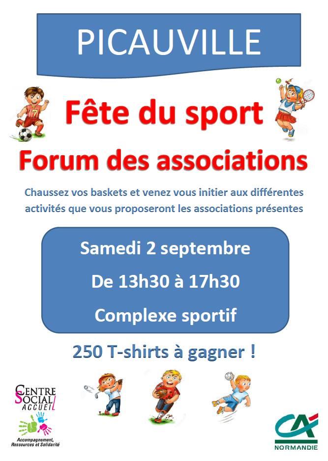 Fête du sport Picauville 2017