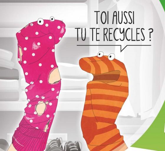 Offrez une 2e vie à vos textiles, linges de maison et chaussures