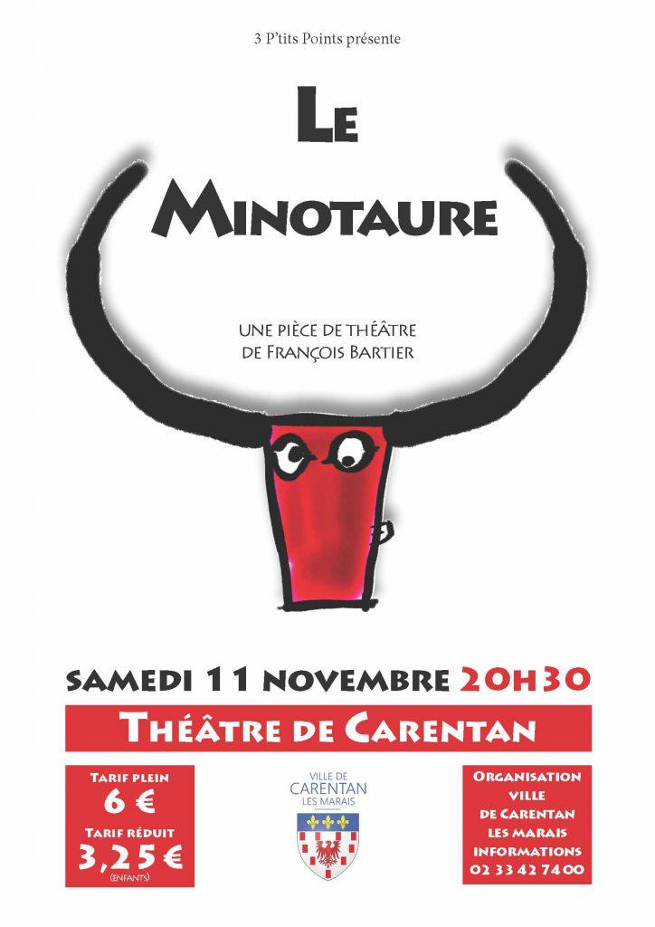 affiche Minotaure Carentan