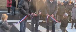 Inauguration du quartier de Beauvais à Sainte-Mère-Eglise