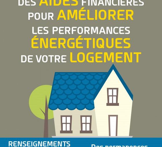 Aides à l'amélioration énergétique de votre habitation