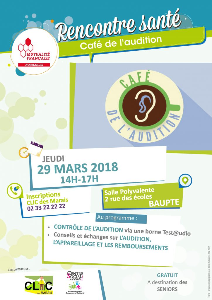 Café de l'audition Baupte 29.03.18