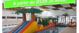 Aquadick – Passage aux horaires vacances