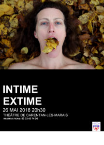 affiche INTIME EXTIME