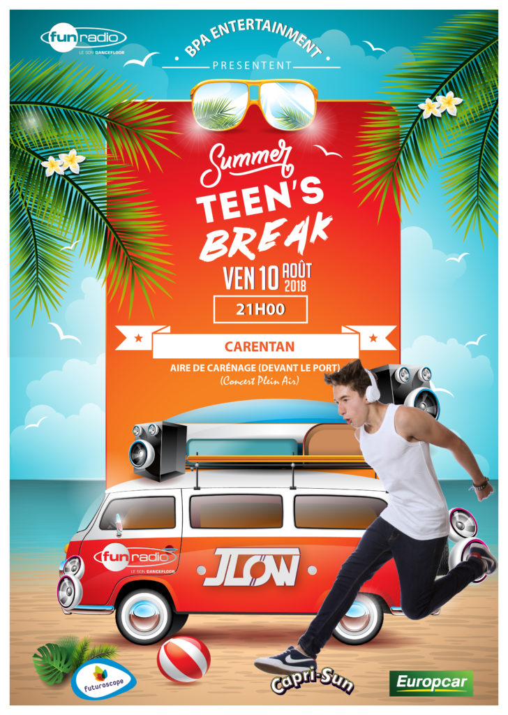 affiche teen's break carentan-01