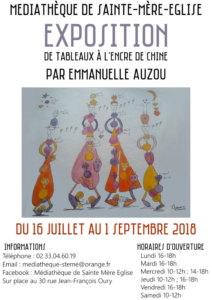 Affiche expo Auzou