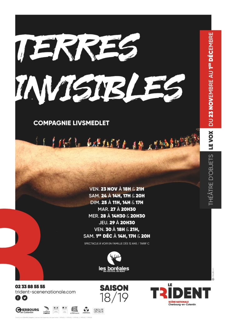 Affiche BUS RN13 Terres invisibles
