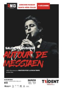 Affichette A3 SM - Autour de Messiaen