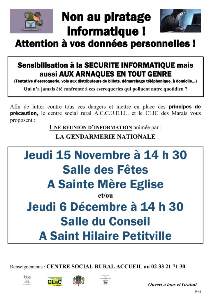 affiche securité informatique