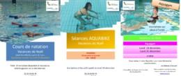 Aquadick : activités encadrées de Noël