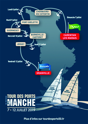 Tour des Ports de la Manche à la voile