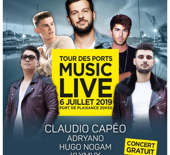 Music Live avec Claudio Capéo
