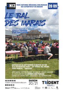 Affichette A3 RN13-BAL DES MARAIS