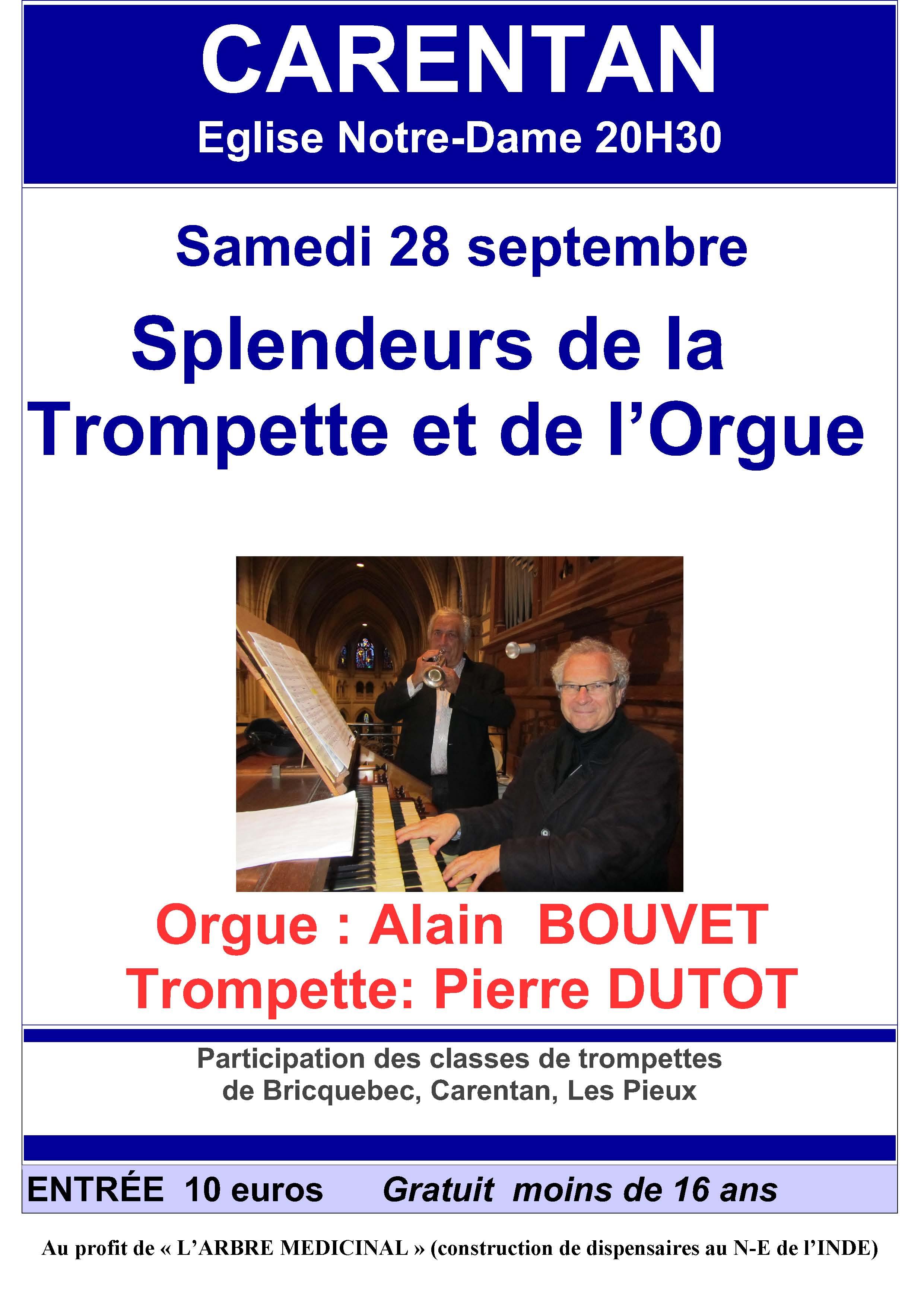 splendeurs de la trompette et de l'orgue