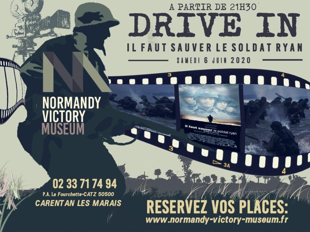 Affiche drive in