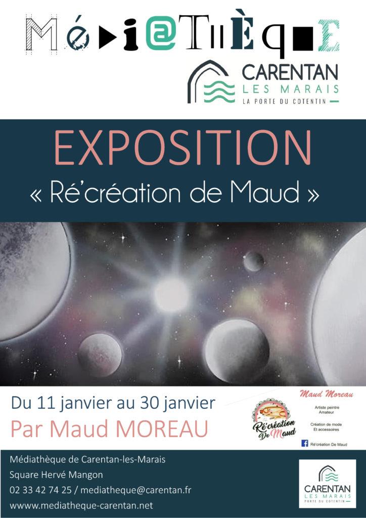 affiche Expo Moreau Maud
