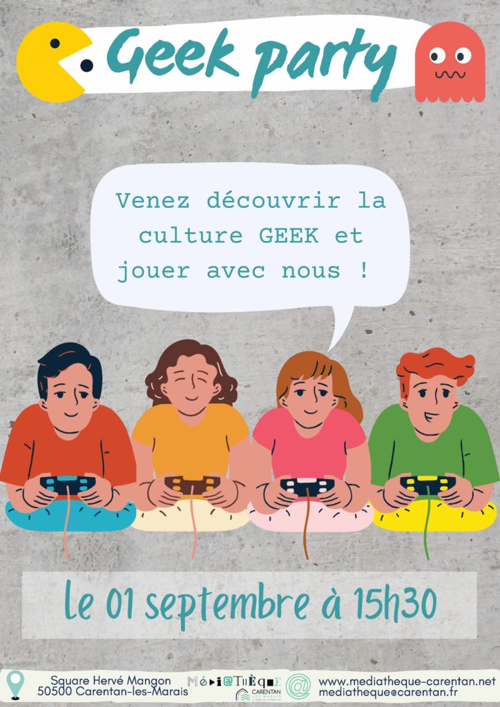 geek party 09