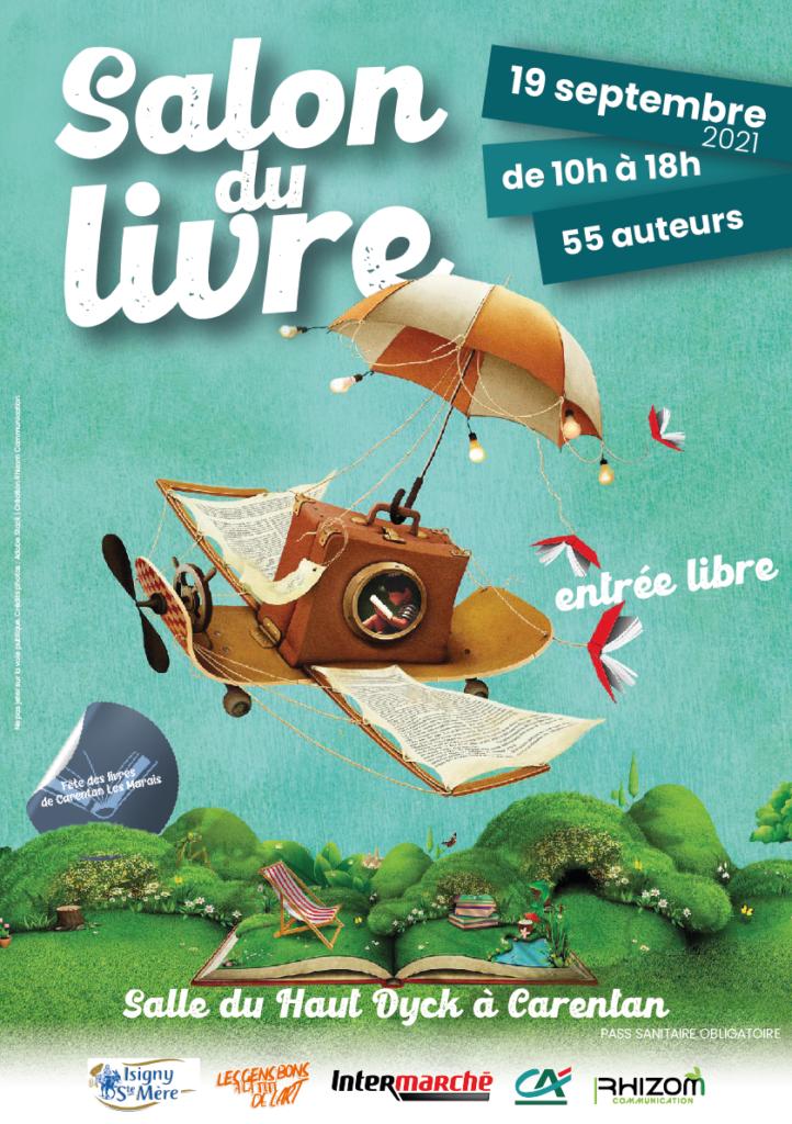 Salon du livre 2021 Carentan