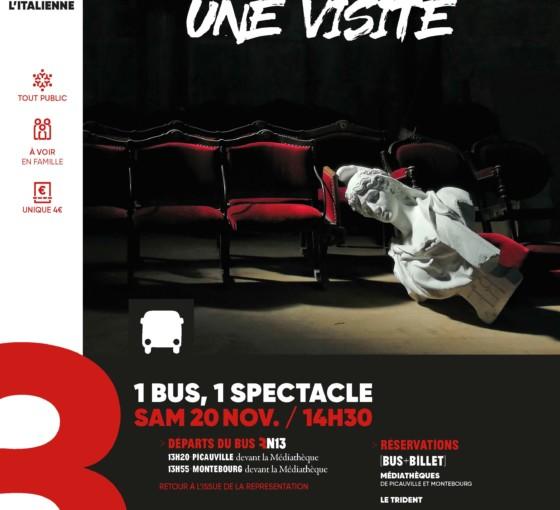 Visite théâtralisée du théâtre à l'italienne
